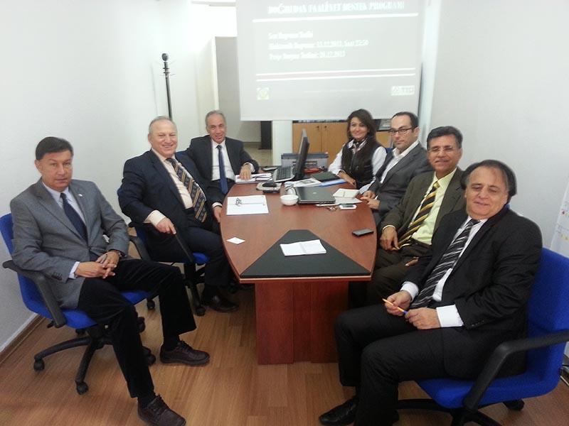 Uluslarası Ticaret Bölümü ile Toplantı