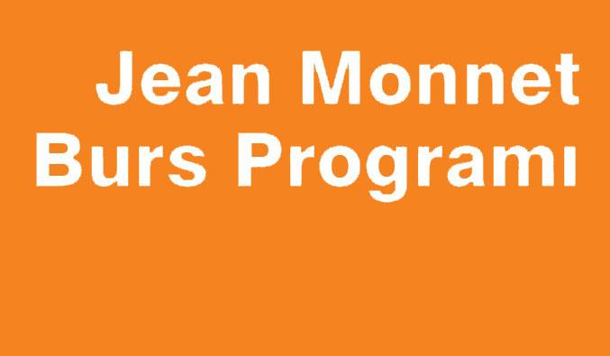 Jean Monnet Burs Programı 2014-2015 Yılı Duyurusu Yayınlanmıştır