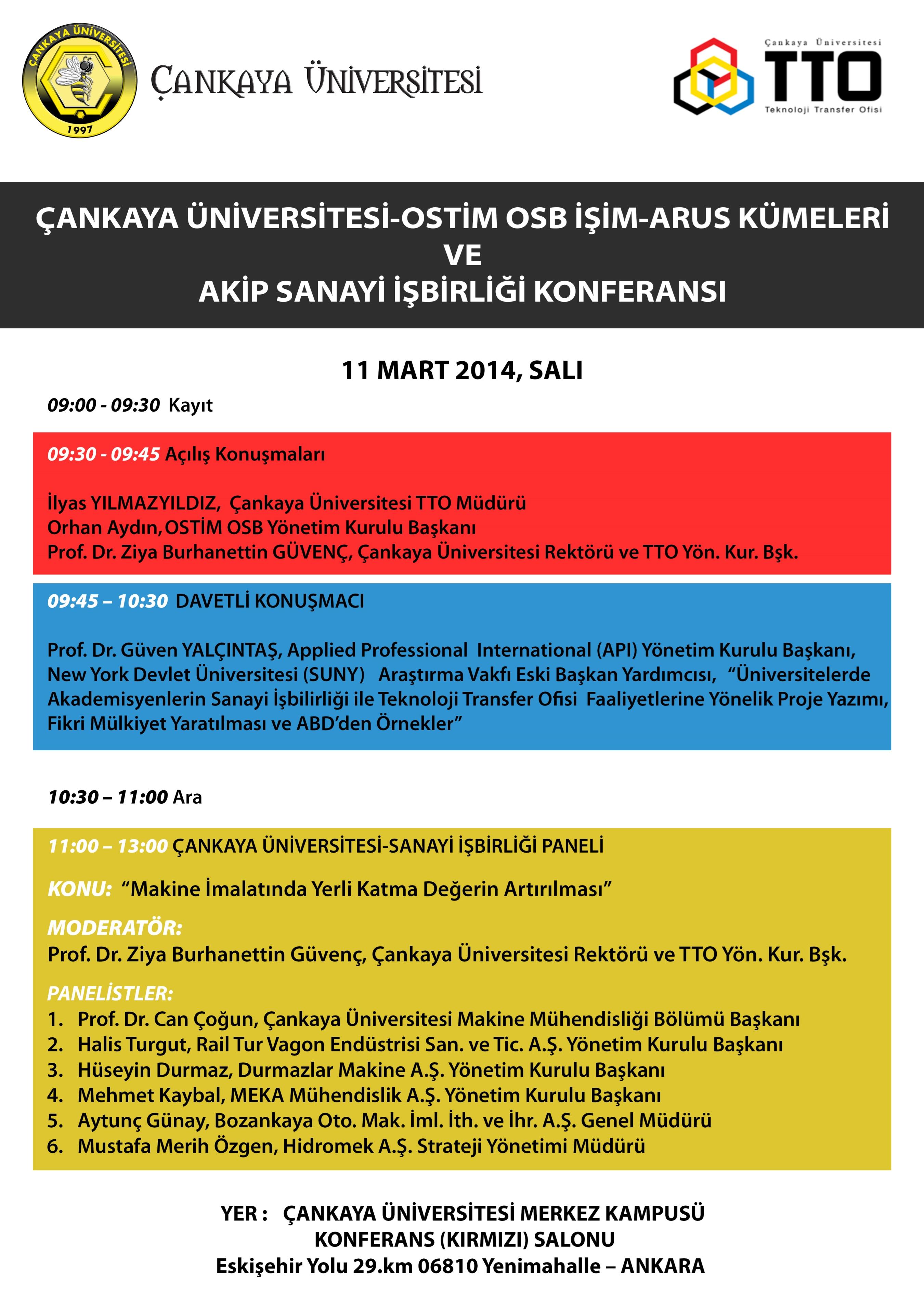 TTO Konferans Afiş 1