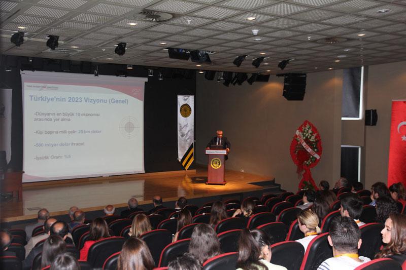 Prof. Dr. Habip ASAN Çankaya Üniversitesi 8 Ar-Ge Proje Pazarı'nda Sınai Mülkiyeti Anlattı