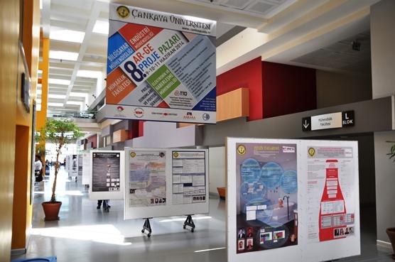 Çankaya Üniversitesi 8.Ar-Ge Proje Pazarı Etkinliği Başarı ile Gerçekleşti !