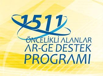 1511 TÜBİTAK Öncelikli Alanlar Teknoloji Geliştirme ve Yenilik Projeleri Destekleme Programı Başvuruları 15 Ekim 2014 – 19 Ocak 2015 Tarihleri Arasında Gerçekleşecektir !