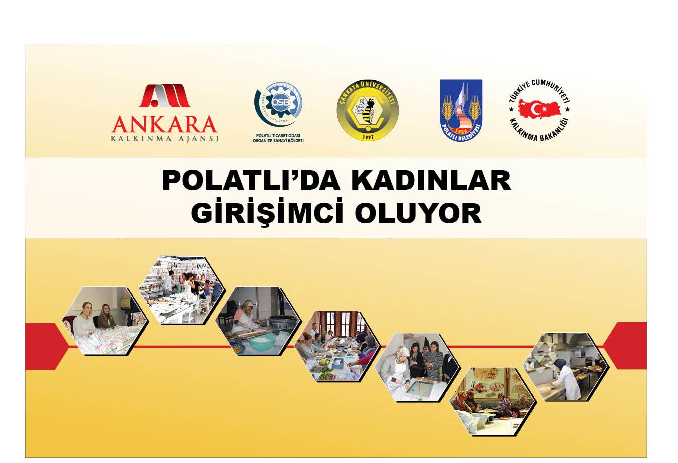 """""""Polatlı'da Kadınlara Yönelik İş Kurma Merkezi'nin Kurulması"""" Projesi'nin Açılış Toplantısı Gerçekleştirildi!"""