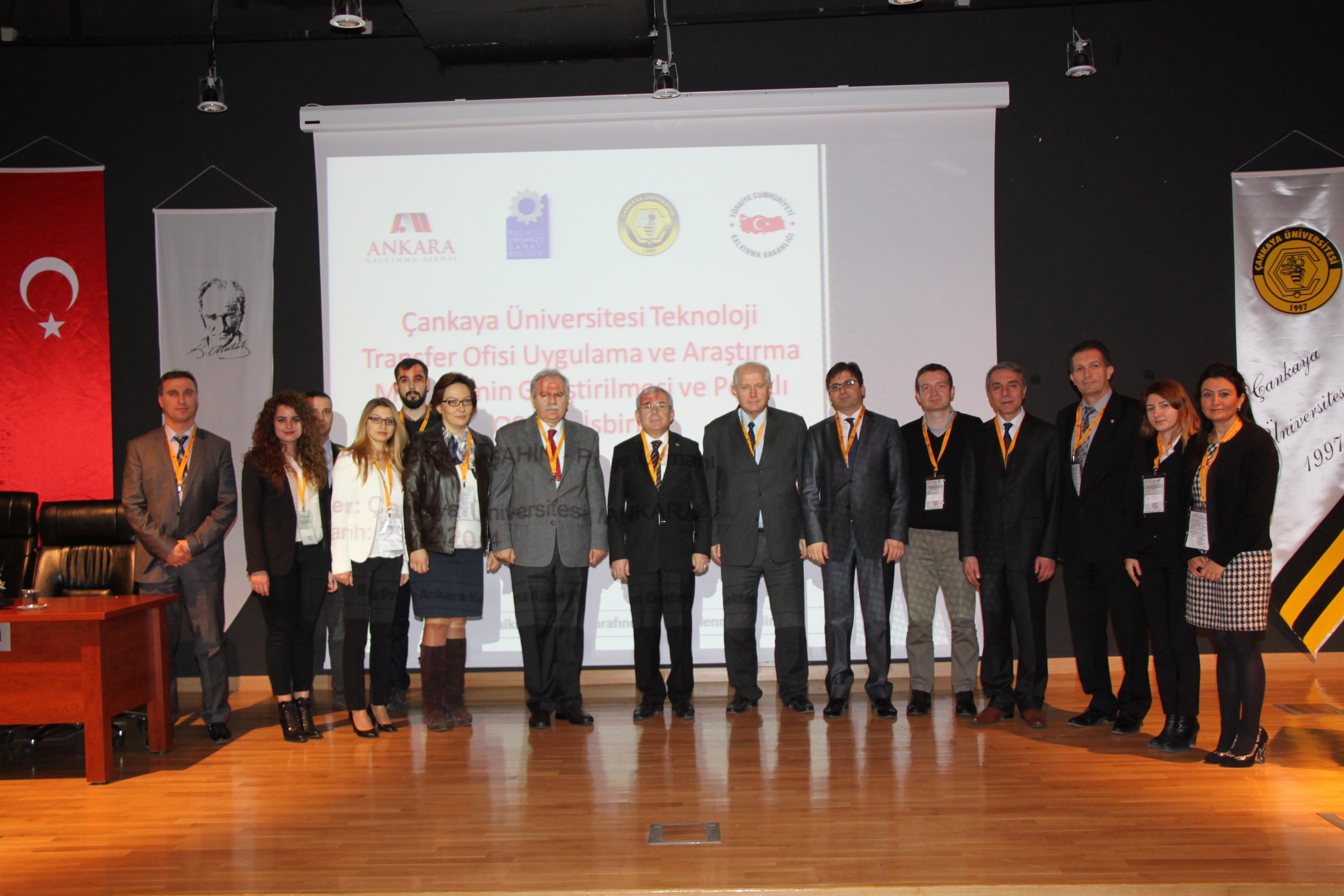 Çankaya Üniversitesi Teknoloji Transfer Ofisi Uygulama ve Araştırma Merkezi'nin Geliştirilmesi ve Polatlı OSB ile İşbirliği Projesi Kapanış Günü Etkinliği gerçekleştirildi !