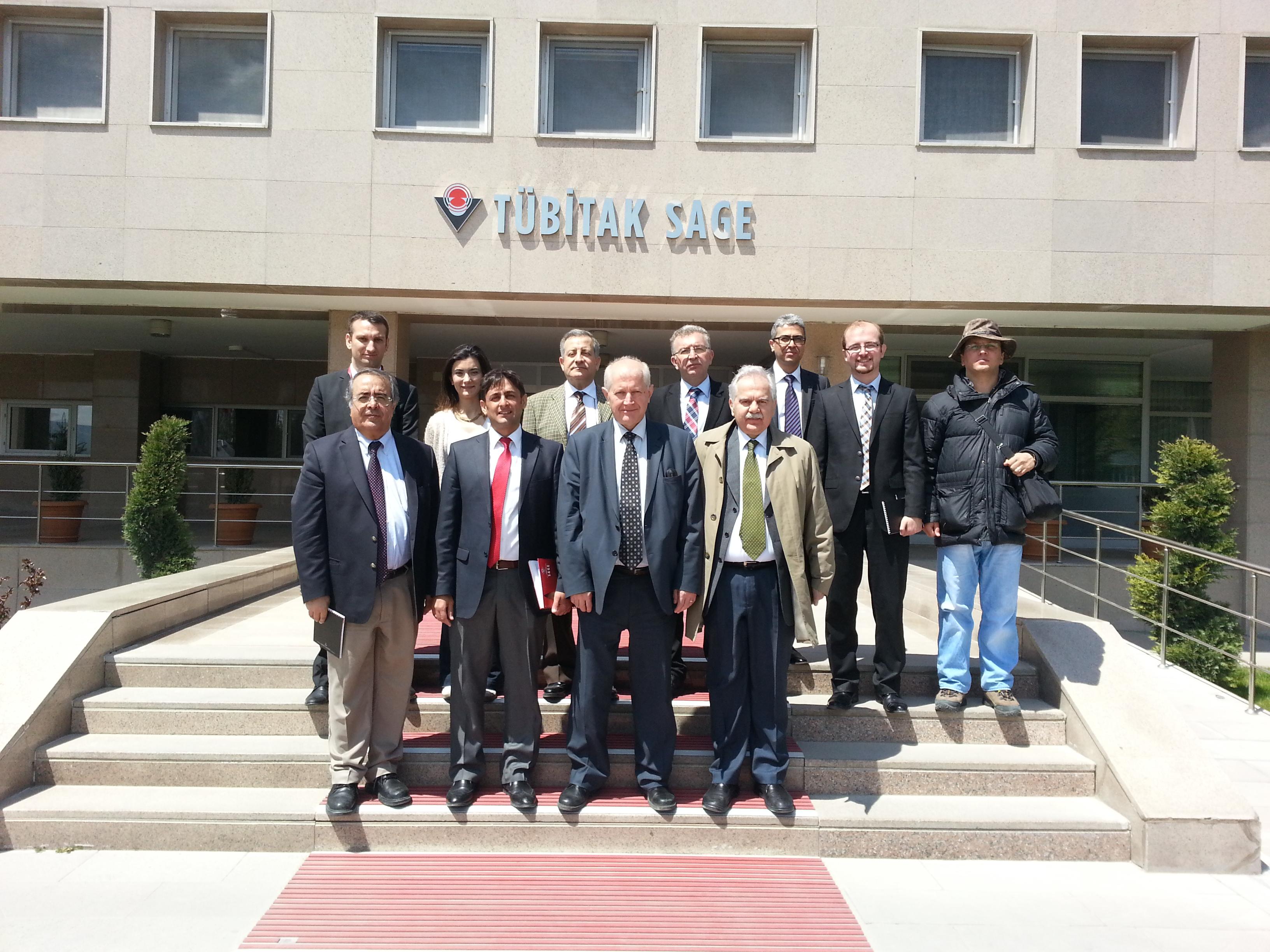 Çankaya Üniversitesi TTO olarak TÜBİTAK SAGE Ziyareti gerçekleştirildi