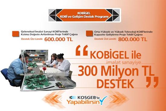 KOSGEB'ten Yeni Destek Programı – KOBİGEL- KOBİ Gelişim Destek Programı! Son Başvuru Tarihi: 6 Mayıs 2016