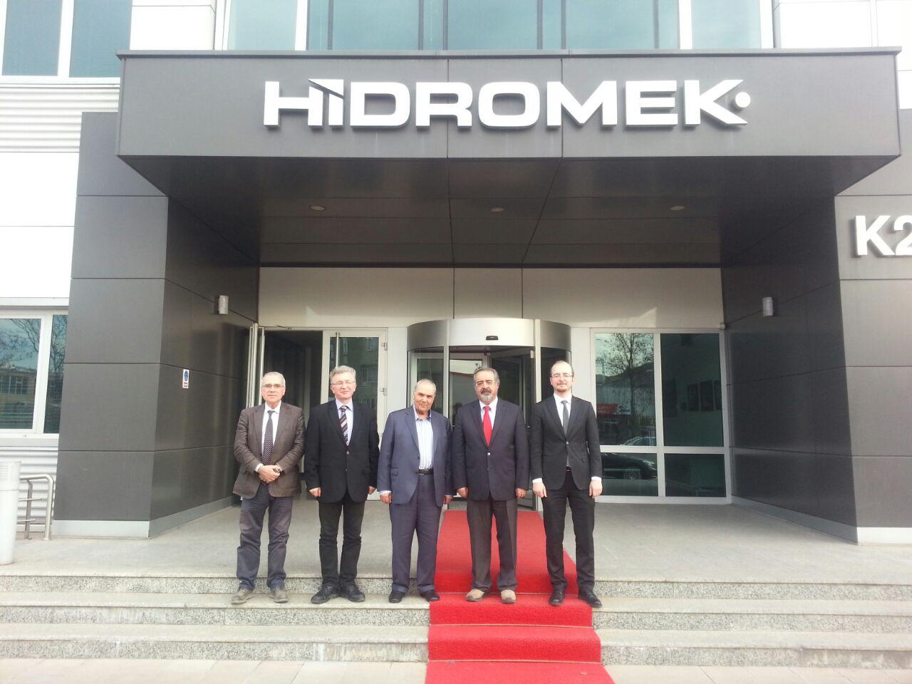 Çankaya Üniversitesi Hidromek Ziyareti 8 Mart 2017 Tarihinde Gerçekleşti!