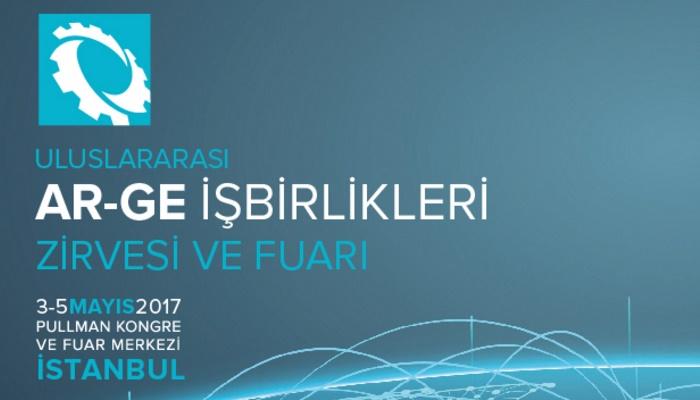 Uluslararası Ar-Ge İşbirlikleri Zirvesi ve Fuarı 3-5 Mayıs 2017 Tarihinde İstanbul'da Gerçekleşecektir!