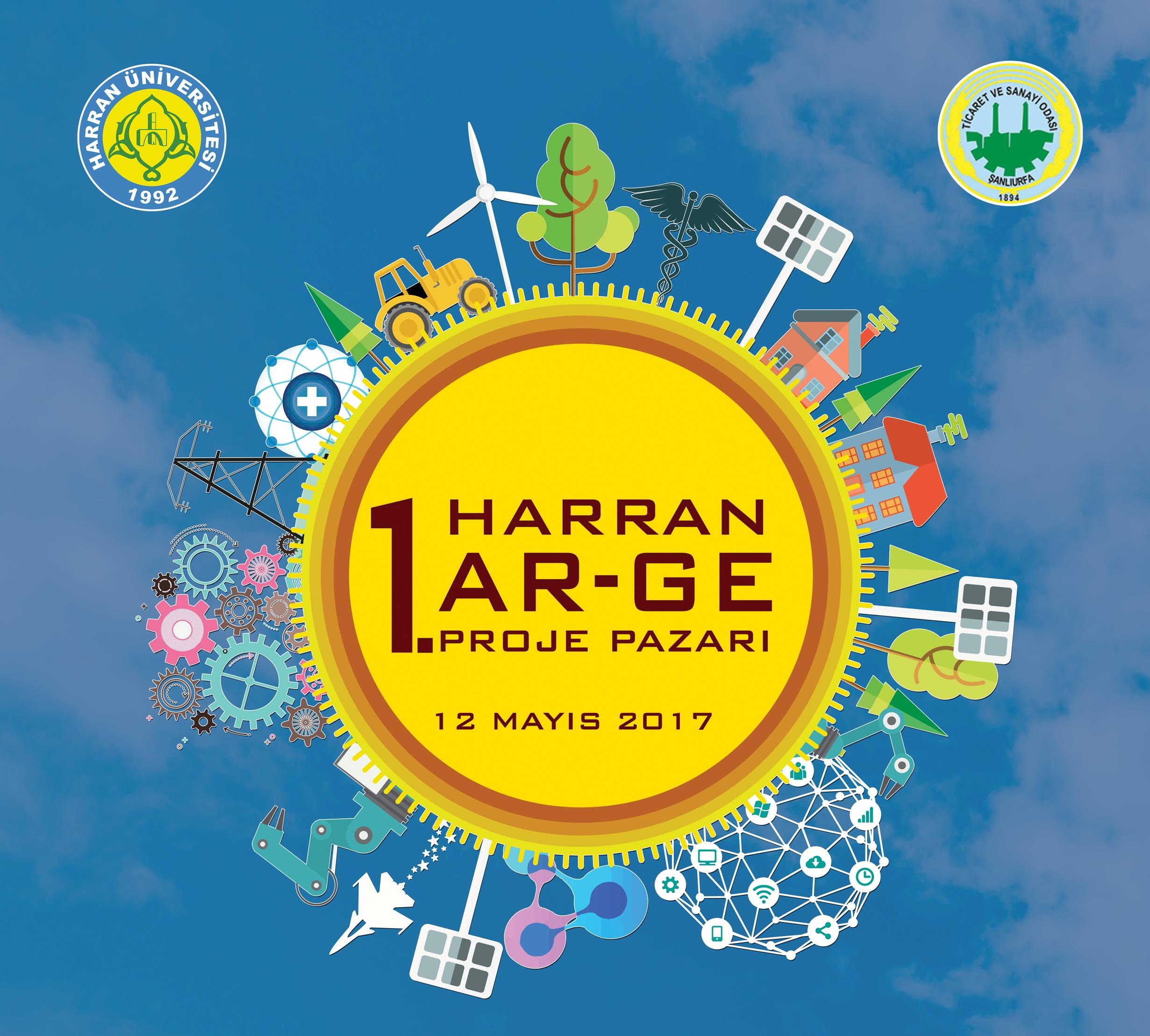 1. Harran Ar-Ge Proje Pazarı! Son Başvuru Tarihi: 15 Nisan 2017, Etkinlik Tarihi: 12 Mayıs 2017