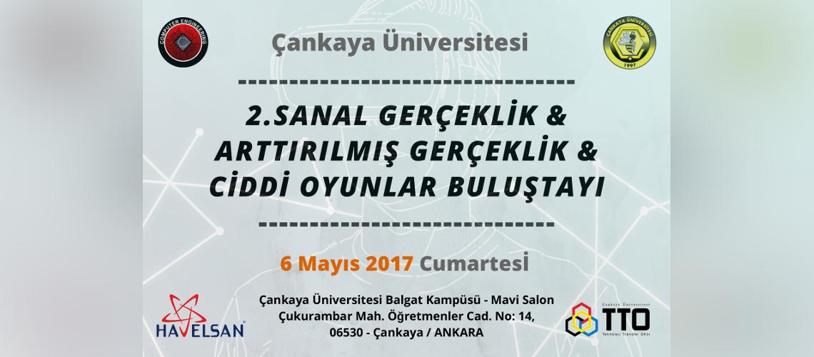2. Sanal Gerçeklik & Arttırılmış Gerçeklik & Ciddi Oyunlar Buluştayı 6 Mayıs 2017 Tarihinde Gerçekleşiyor!
