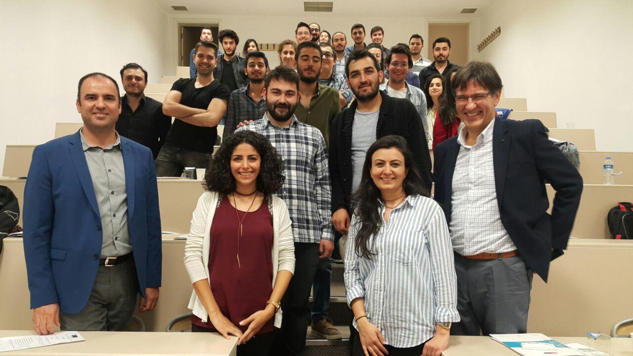 Çankaya Üniversitesi Genç Girişimciliği Geliştirme Programı (YEDP) Eğitimleri Tamamlanarak Sertifikalar Verildi!