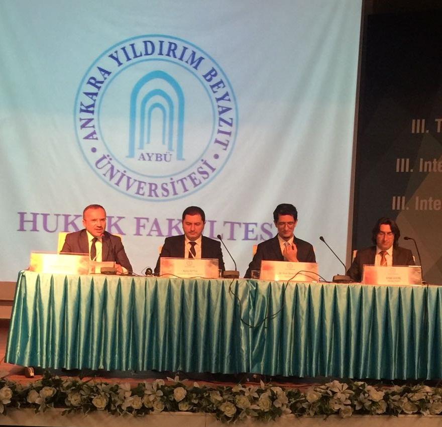Çankaya Üniversitesi TTO, 3. Fikri Mülkiyet Hukuku Uluslararası Sempozyumuna Katıldı!