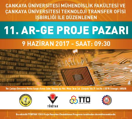 11. Ar-Ge Proje Pazarı 9 Haziran 2017 Tarihinde Gerçekleşti!