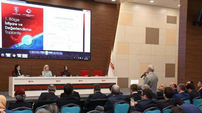 """Ankara Bilim, Sanayi ve Teknoloji İl Müdürlüğü Koordinatörlüğünde """"1. Bölge İstişare ve Değerlendirme Toplantısı""""na Katıldık!"""