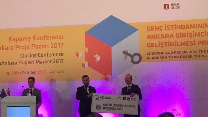 Çankaya Üniversitesi TTO Tech Ankara Proje Pazarına Katıldı!