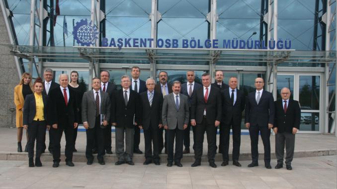 Çankaya Üniversitesi ile Başkent Organize Sanayi Bölgesi Arasında İşbirliği Çerçeve Protokolü İmzalandı!