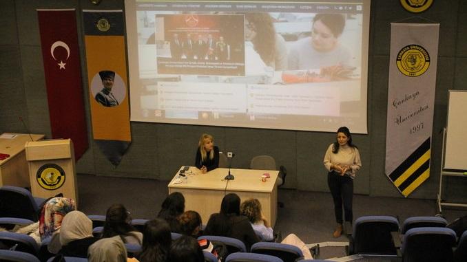 Çankaya Üniversitesi TTO Tarafından Girişimcilik ve Fikri Mülkiyet Hakları Bilgilendirme Etkinliği Gerçekleştirildi!