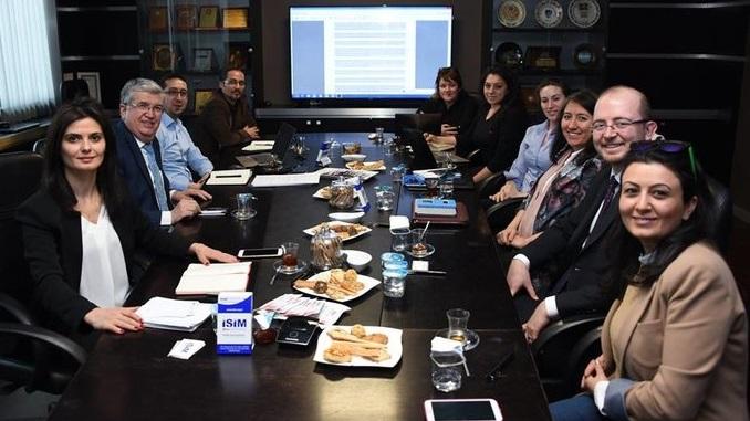 Çankaya Üniversitesi TTO, İŞİM-İş ve İnşaat Makineleri Kümelenmesi ile Strateji Çalışma Grubu Toplantısında Buluştu!