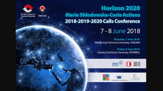 Ufuk2020 MSCA Çağrıları Konferansı! Tarih: 7-8 Haziran 2018