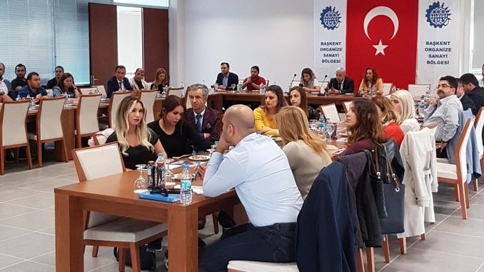 Başkent OSB'de Ar-Ge ve Tasarım Merkezleri Toplantısı Gerçekleştirildi!