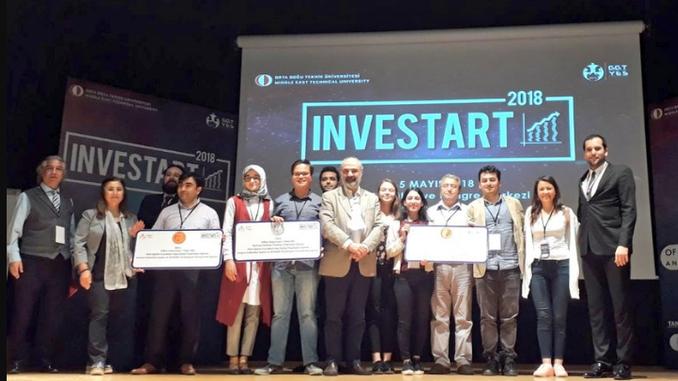 Çankaya Üniversitesi BeeVenture Kuluçka Merkezimizde Yer Alan Rement Bilgi Teknolojileri'ne Investart Etkinliğinde 3.'lük Ödülü Verildi!