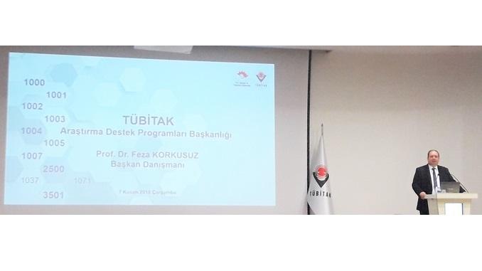 Çankaya Üniversitesi TTO Olarak TÜBİTAK ARDEB Tarafından 7 Kasım 2018 Tarihinde Düzenlenen Bilgilendirme Etkinliğine Katıldık!