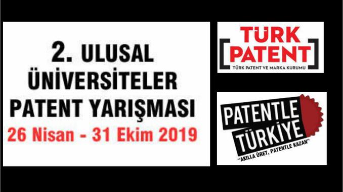 """""""Patentle Türkiye"""" Patent Yarışmasının Son Başvuru Tarihi 31 Aralık 2019 Olarak Güncellendi!"""