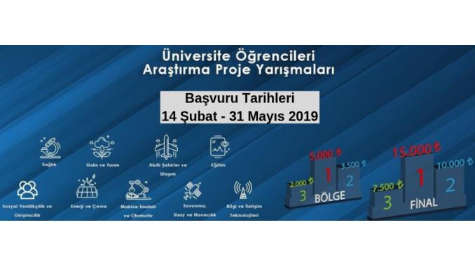 Güncelleme: TÜBİTAK 2242 Üniversite Öğrencileri Araştırma Proje Yarışmaları! Son Başvuru Tarihi: 31 Mayıs 2019