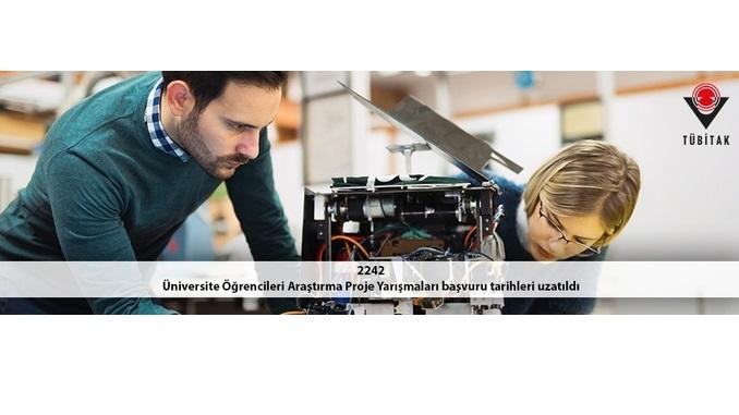 2242 Üniversite Öğrencileri Araştırma Proje Yarışmaları Başvuru Tarihleri 6 Nisan 2020 Tarihine Uzatıldı