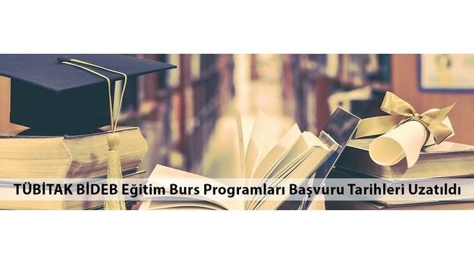 TÜBİTAK BİDEB Eğitim Burs Programları Başvuru Tarihleri 10 Nisan 2020 Tarihine Uzatıldı
