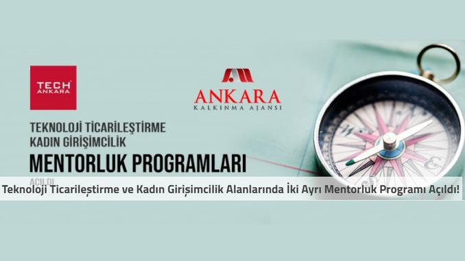 Ankara Kalkınma Ajansı Bünyesinde Teknoloji Ticarileştirme ve Kadın Girişimcilik Alanlarında İki Ayrı Mentorluk Programı Açıldı! Son Başvuru Tarihi: 1.06.2020