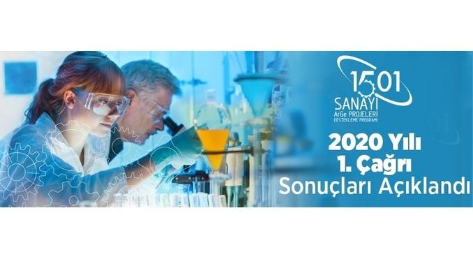 TÜBİTAK TEYDEB 1501 Programı 2020 Yılı 1. Çağrısı Sonuçları!
