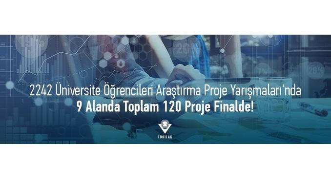 TÜBİTAK 2242 Üniversite Öğrencileri Araştırma Proje Yarışmaları Bölge Değerlendirme Sonuçları!