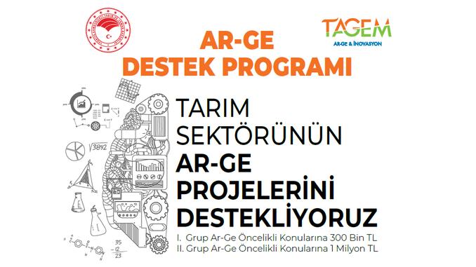 TAGEM Ar-Ge Destek Programı! Son Başvuru Tarihi: 16 Ekim 2020