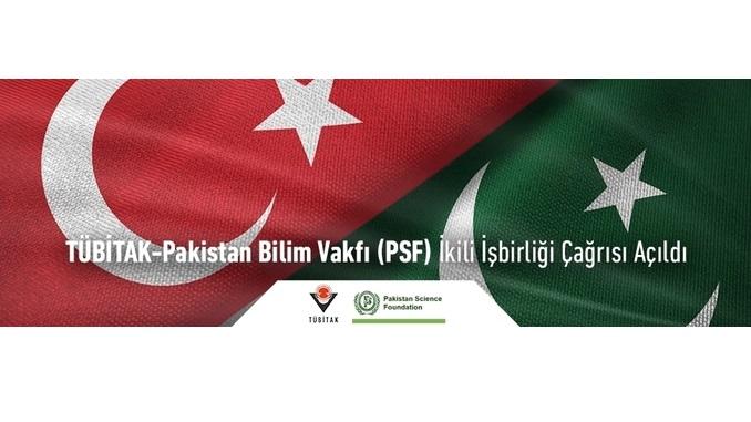 TÜBİTAK-Pakistan Bilim Vakfı (PSF) İkili İşbirliği Çağrısı! Çağrı Kapanış Tarihi: 17 Kasım 2020