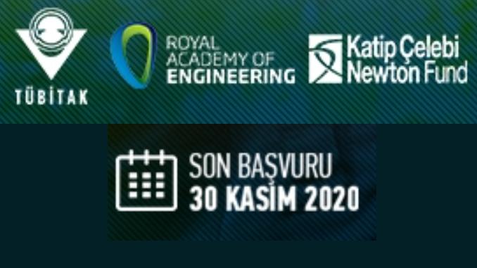 Kâtip Çelebi-Newton Fonu Sanayi-Akademi Ortaklığı Programı (Transforming Systems Through Partnerships) Çağrısı! Çağrı Kapanış Tarihi: 30 Kasım 2020