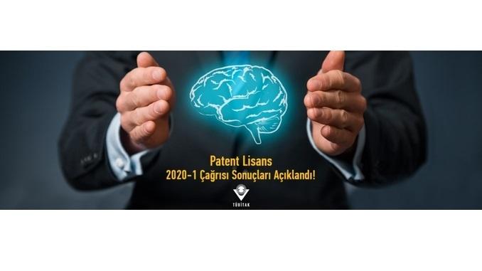 TÜBİTAK Patent Lisans 2020-1 Çağrısı Sonuçları Açıklandı