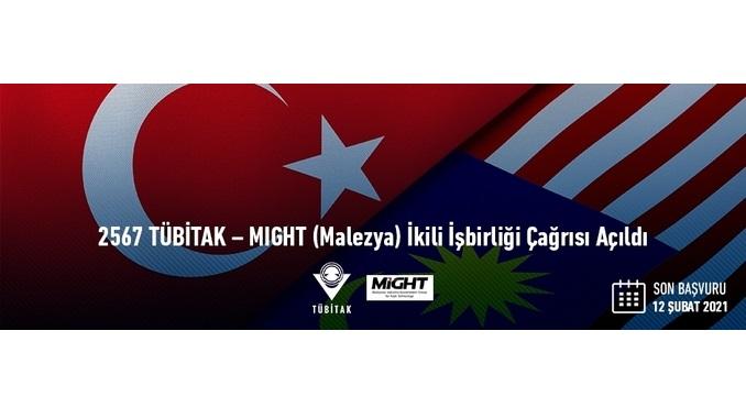 2567 TÜBİTAK – MIGHT (Malezya) İkili İşbirliği Çağrısı! Son Başvuru: 12 Şubat 2021