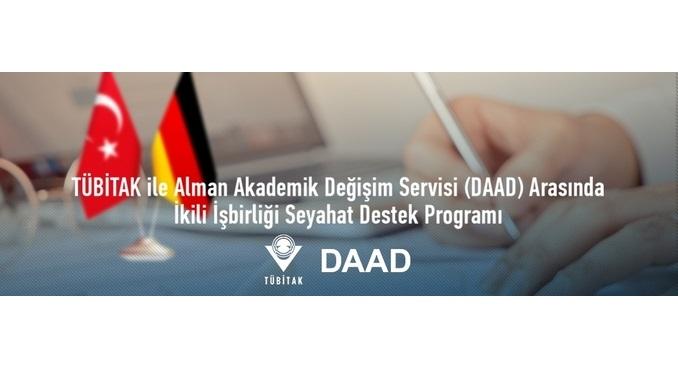 TÜBİTAK ile Alman Akademik Değişim Servisi (DAAD) ile İkili Araştırma İşbirliği Programı Başlatıldı!Çağrı Kapanış: 21 Aralık 2020