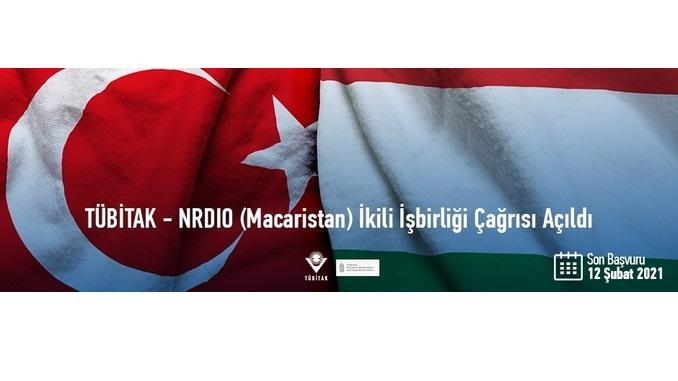 2522 TÜBİTAK – NRDIO (Macaristan) İkili İşbirliği Çağrısı! Çağrı Kapanış Tarihi: 12 Şubat 2021