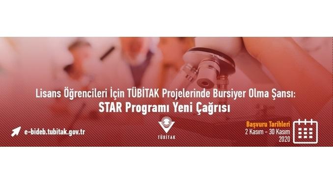 TÜBİTAK Projelerinde Çalışacak Lisans Öğrencileri STAR Bursiyeri Olabilecek