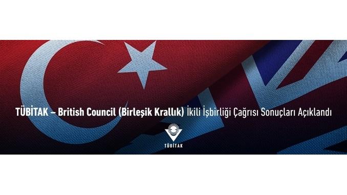 TÜBİTAK – British Council (Birleşik Krallık) İkili İşbirliği Çağrısı Başvuru Sonuçları