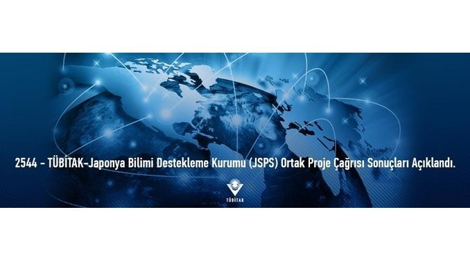 2544 – TÜBİTAK-Japonya Bilimi Destekleme Kurumu (JSPS) Ortak Proje Çağrısı Sonuçları