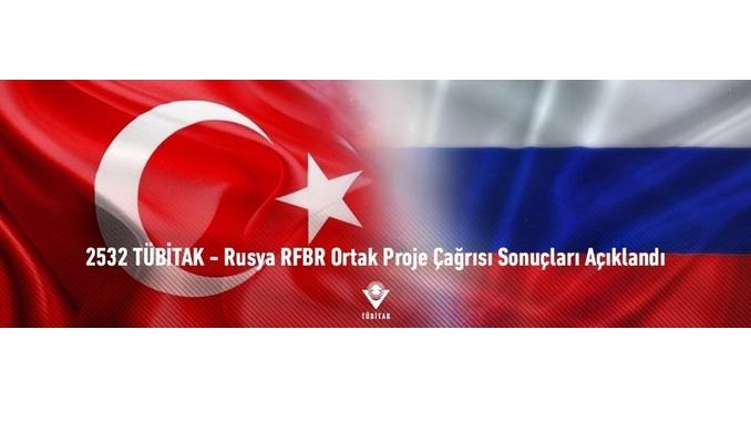 2532 TÜBİTAK – Rusya RFBR Ortak Proje Çağrısı Sonuçları