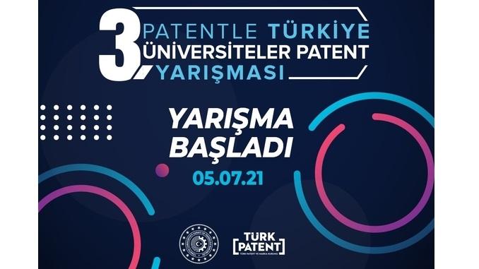 """""""Patentle Türkiye"""" 3. Üniversiteler Patent Yarışması Başvurulara Açık! Son Başvuru: 15 Aralık 2021"""