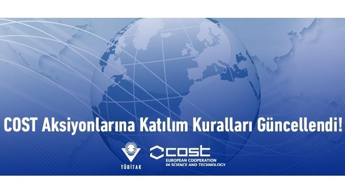 COST Aksiyonlarına Katılım Kuralları Güncellendi!
