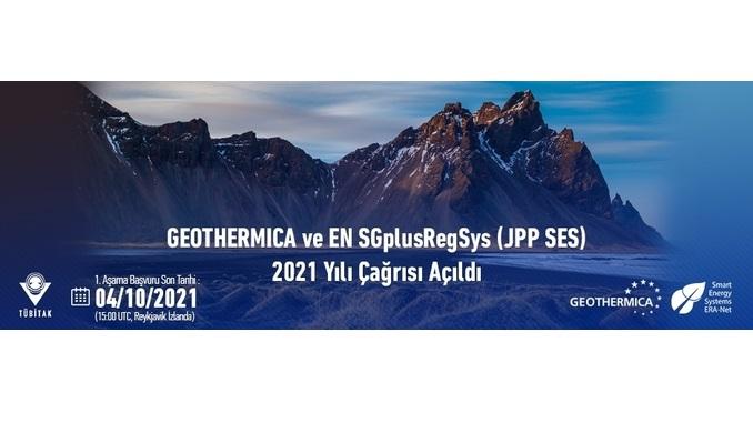 GEOTHERMICA ve EN SGplusRegSys (JPP SES) 2021 Yılı Çağrısı! 1. Aşama Son Başvuru: 4 Ekim 2021
