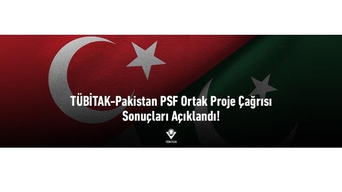 TÜBİTAK-Pakistan PSF Ortak Proje Çağrısı Sonuçları