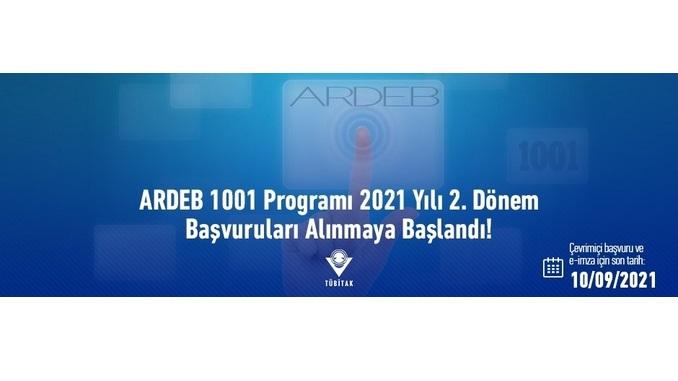 TÜBİTAK ARDEB-2021 Yılı 2. Dönem 1001 Projeleri Son Başvuru Tarihi: 10 Eylül 2021