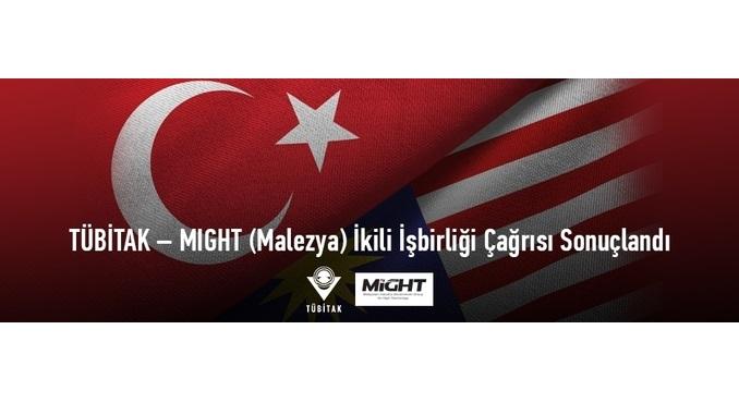 TÜBİTAK – MIGHT (Malezya) İkili İşbirliği Çağrısı Sonuçları